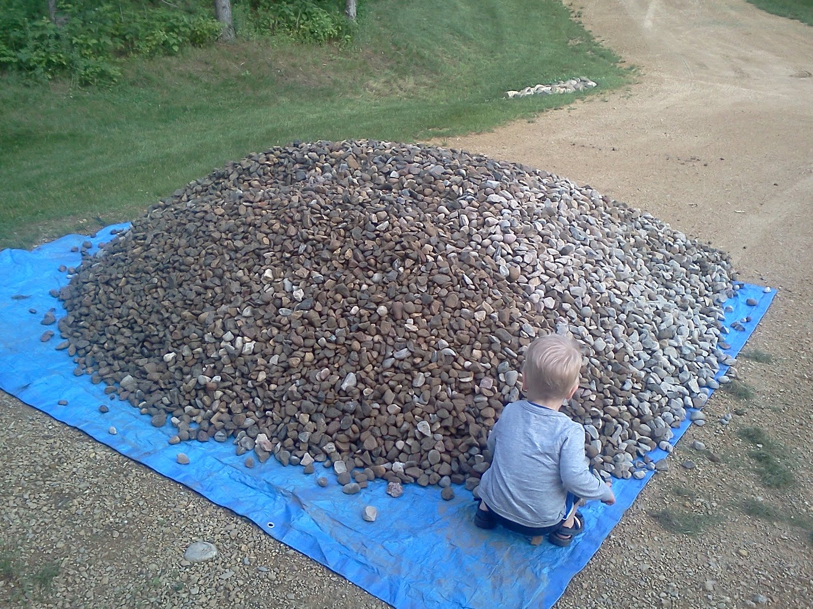 Home And Dollars How About 6 Tons Of River Rock
