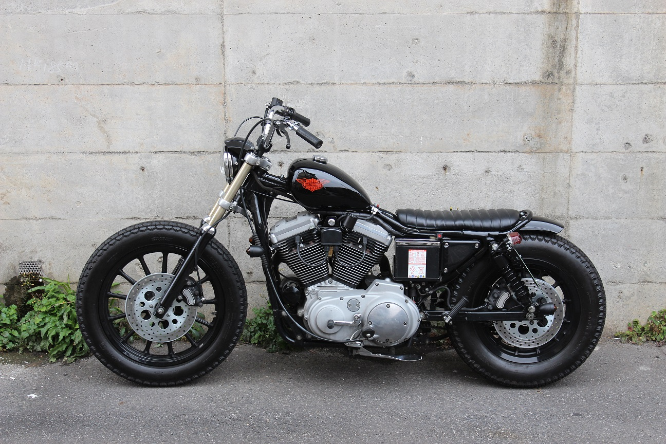 Harley Davidson Sportster By Brat Style