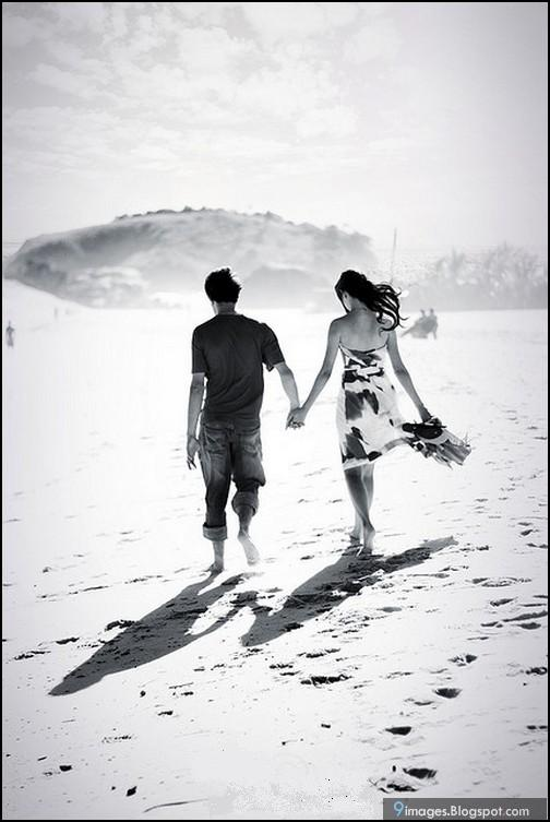 black-n-white, couple, love
