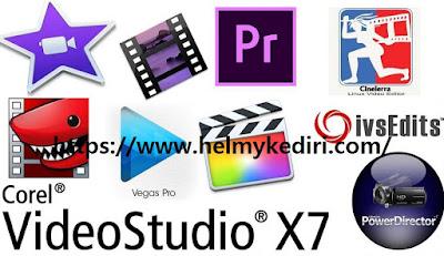 Software editing video untuk komputer