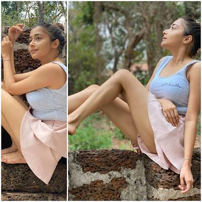 This beautiful Hasina tina dutta got hot photoshoot done due to lockdown