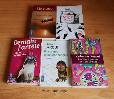 Cinco autores francófonos