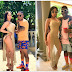 Pics: Khanyi Mbau flaming  At The Omunye Video Shoot