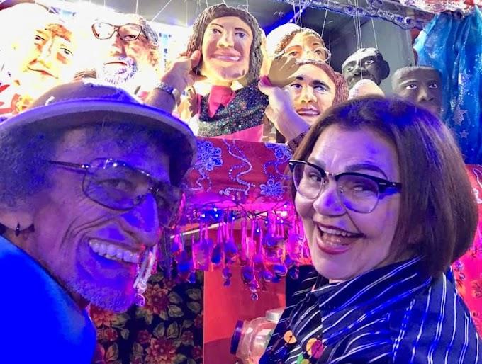 ARTE: Atriz Prazeres Barbosa é homenageada pelo Mamusebá e vira Boneca de Mamulengo