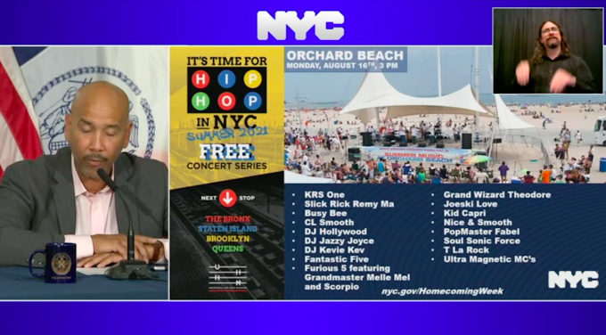 NYC Homecoming Week outer borough concert lineups released, vaccines required