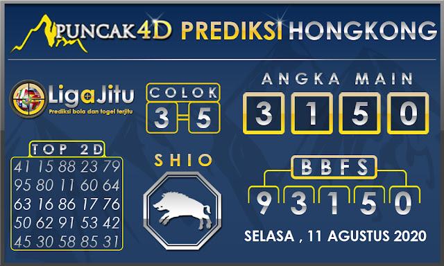 PREDIKSI TOGEL HONGKONG PUNCAK4D 11 AGUSTUS 2020