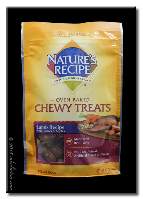 Nature's Recipe Lamb Recipe Chewy Treats