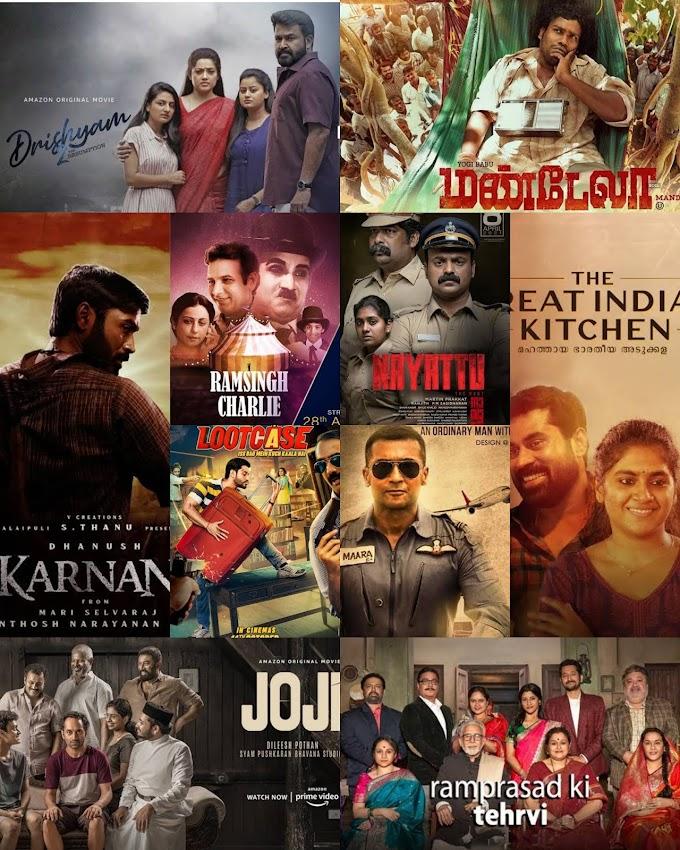 Best  Indian movies released post lockdown. Ranked