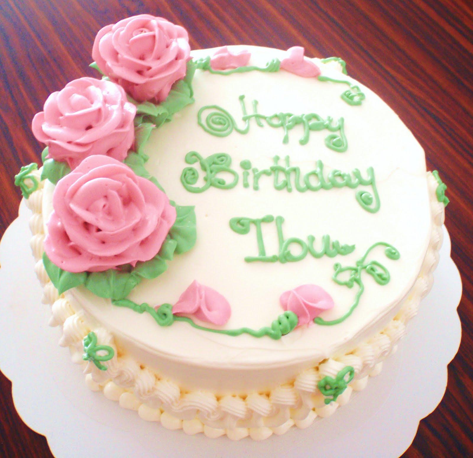 By Jalia Mother S Day Amp Birthday Cake For Ibu