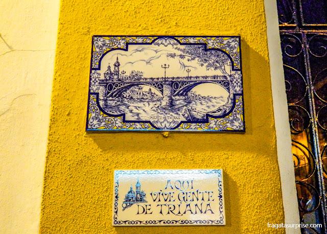 Fachada típica do bairro de Triana, Sevilha