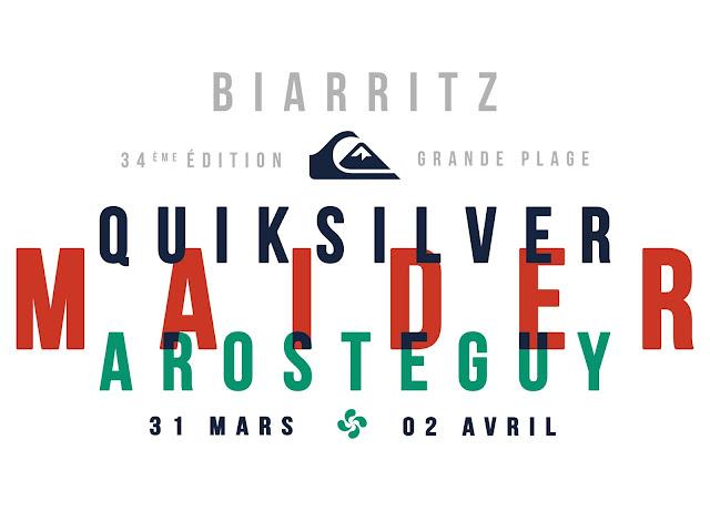 Surf  Biarritz Quiksilver Maïder Arosteguy 2018