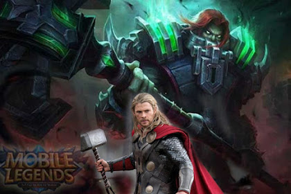 Hero Terizla Mobile Legends, Hero Fighter Seperti Thor