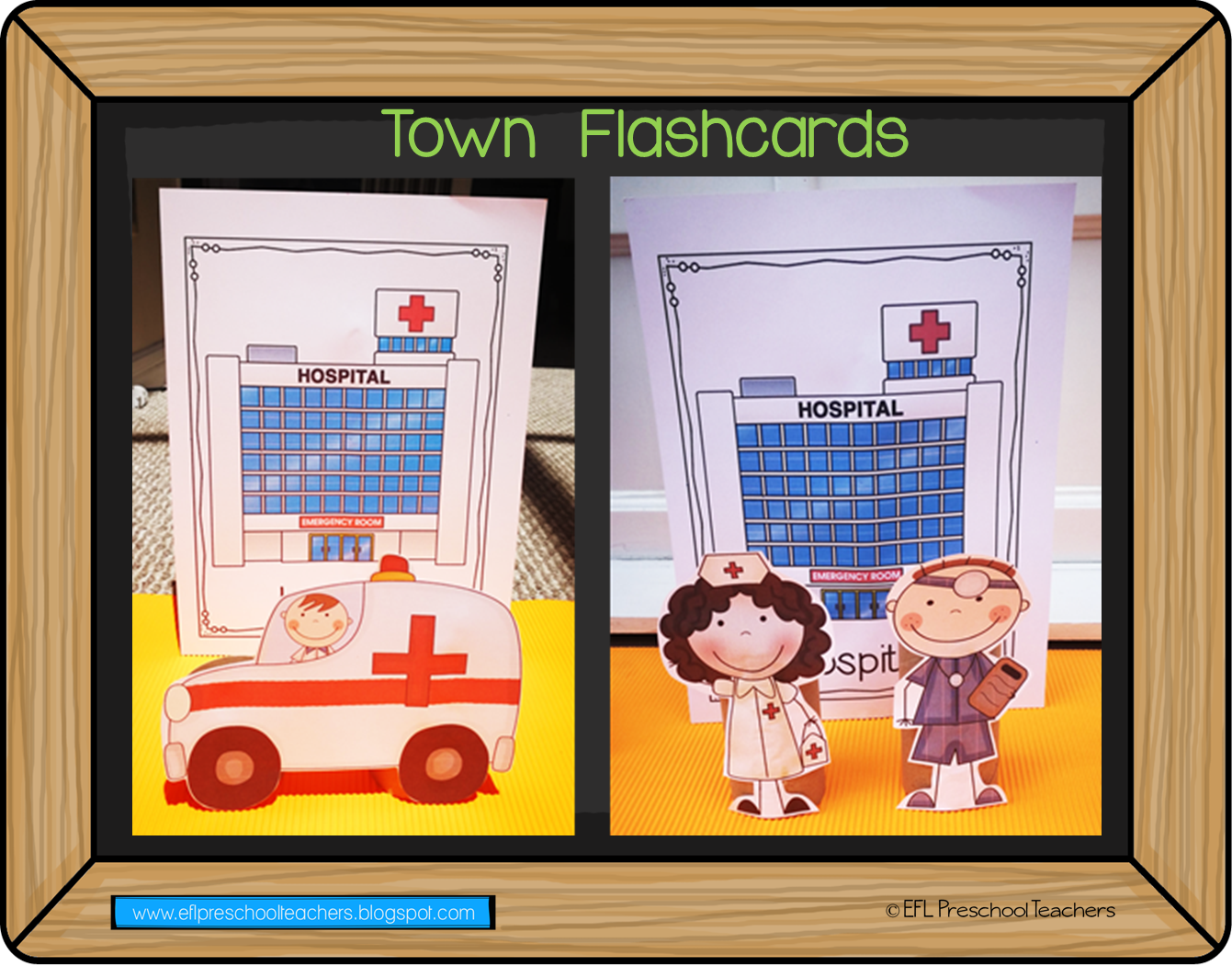 Esl Efl Preschool Teachers Town Theme For Preschool Ela