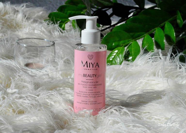myBEAUTYgel - żel do mycia i oczyszczania twarzy Miya Cosmetics recenzja