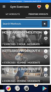 Gym Exercises & Workouts - screenshot 4