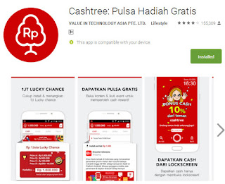 cashtree apliksi android untuk mendapatkan uang dollar