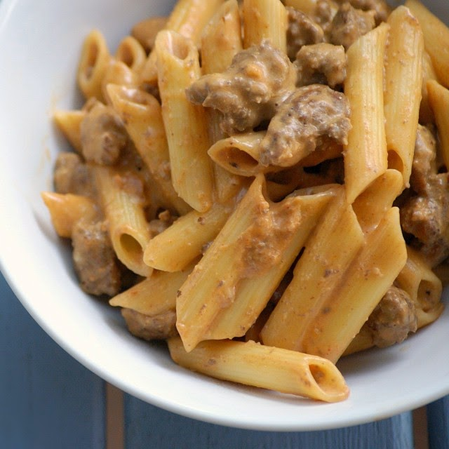 Healthy Hamburger Helper Pasta Recipe