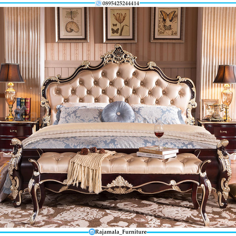 Friday Black Sale Dipan Ukiran Jepara Luxury Classic Desain Terbaru RM-0084