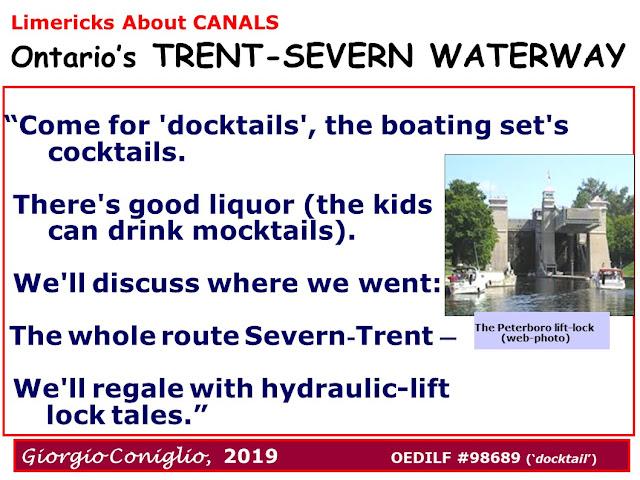 limerick; boating; tourism; canal; Ontario; Trent-Severn; Giorgio Coniglio