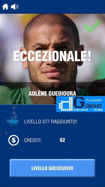 Calcio Quiz 2017 soluzione livello 371-380 | Parola e foto