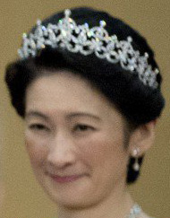 Princess Akishino Kiko Japan Diamond Tiara