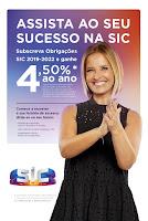 Cristina Ferreira na campanha da SIC