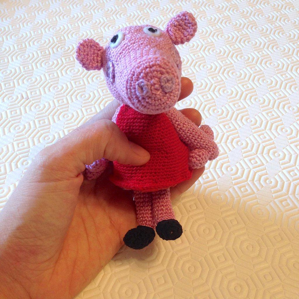 La piccola bottega della Creatività: Peppa Pig amigurumi ...