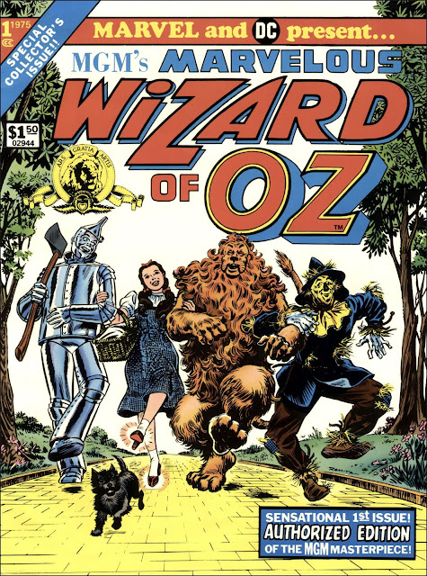 tutti i crossover tra Marvel e DC Wizard of Oz
