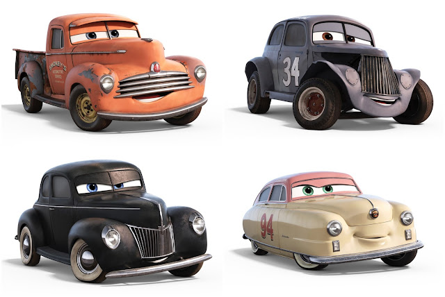 Additional Cars 3 Profiles Shannon Spokes Ramone S New