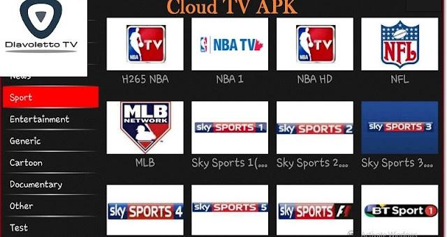 تحميل تطبيق New cloud tv