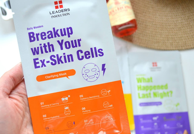 Leaders in Solution Daily Wonders Mask Breakup with Your Ex-Skin Cells