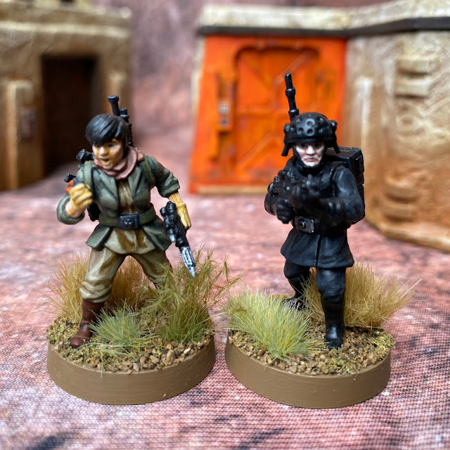 Star Wars Legion: Rebel and Imperial  Comms Technicians