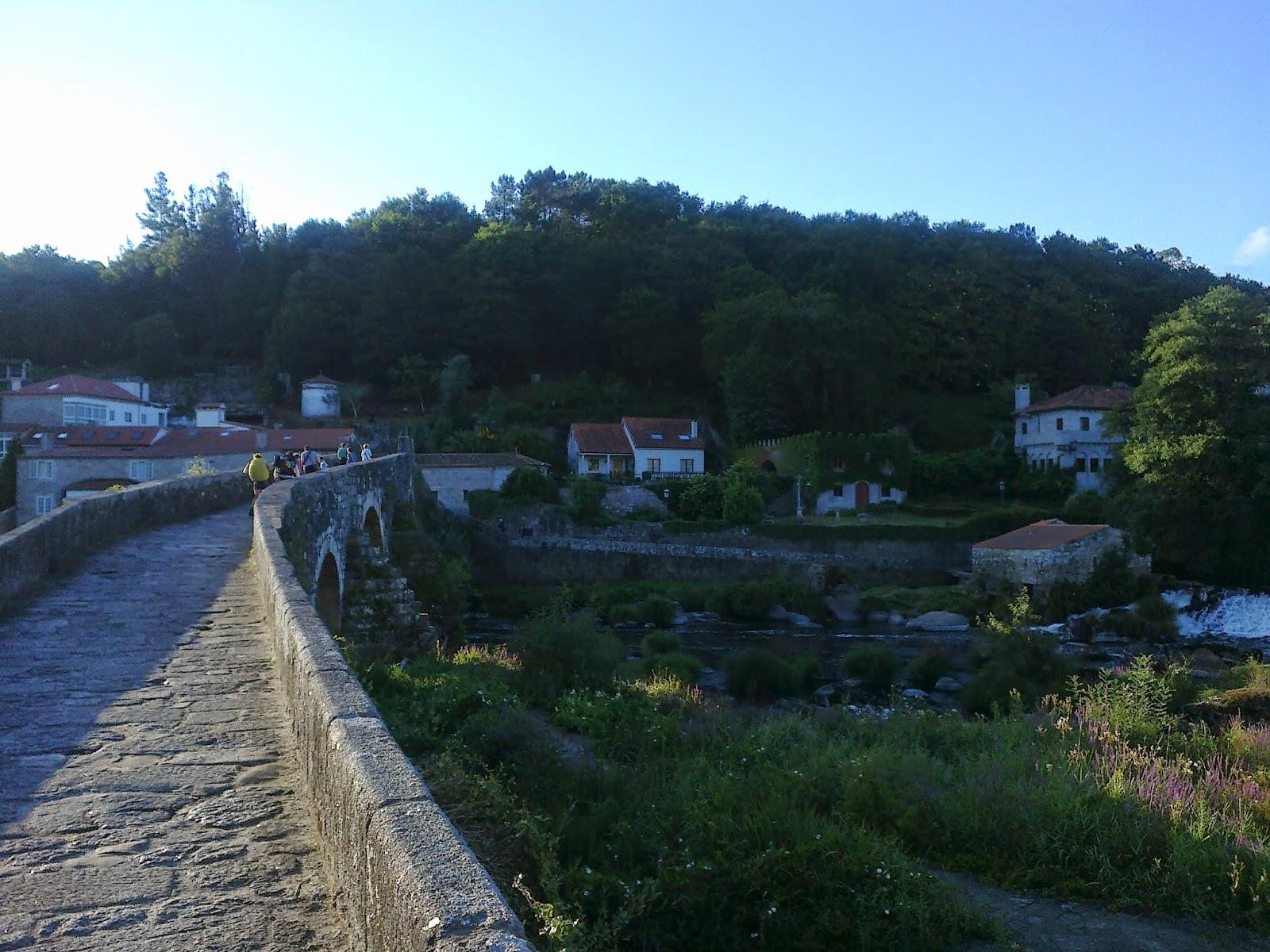 Puente de Pontemaceira entre Negreira y Ames