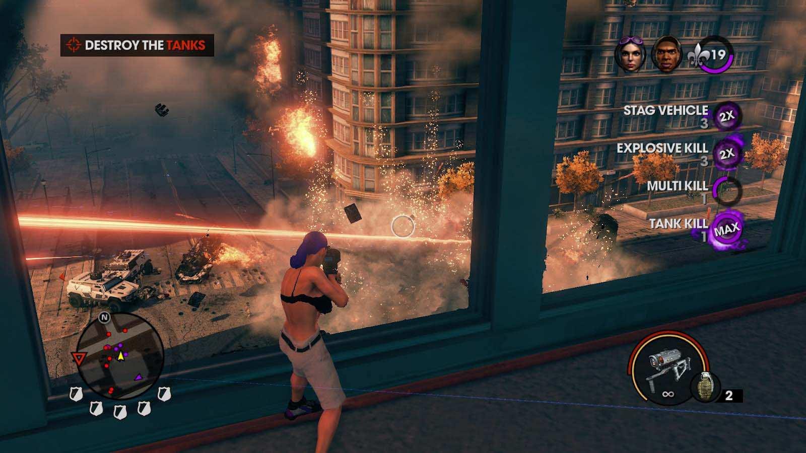 تحميل لعبة Saints Row 3 مضغوطة برابط واحد مباشر + تورنت كاملة مجانا