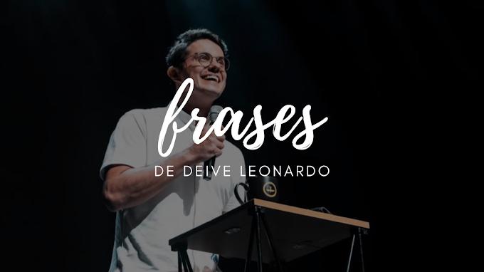 FRASES DE DEIVE LEONARDO