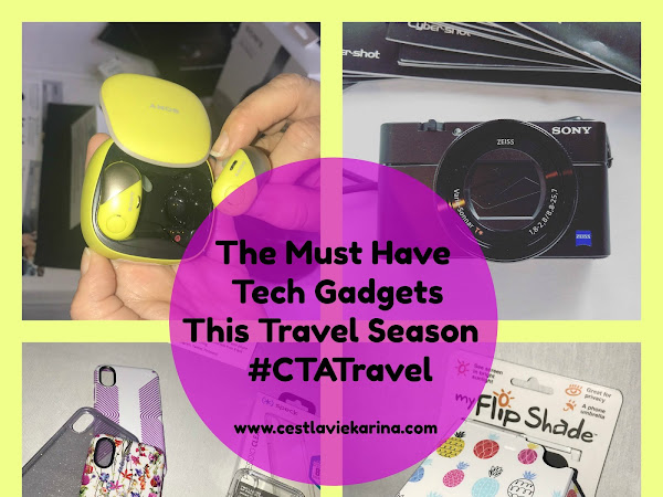 The Must Have Tech Gadgets This Travel Season  #CTATravel