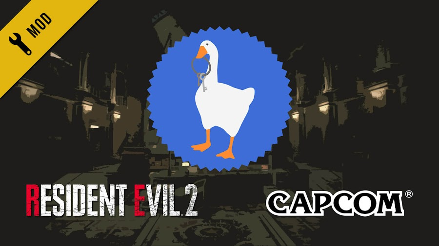 resident evil 2 remake goose mod pc capcom untitled goose game house house panic