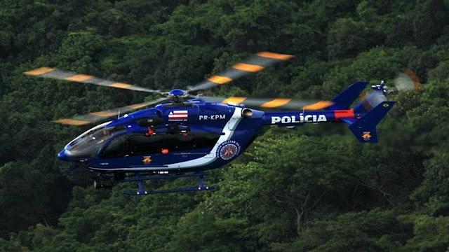 Operação da Polícia Militar em Muritiba busca por suspeitos de explodirem banco em São Gonçalo dos Campos