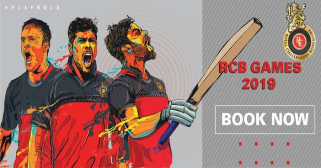 VIVO IPL 2019 Royal Challengers Bangalore (RCB) Ticket Booking : Price and Cost