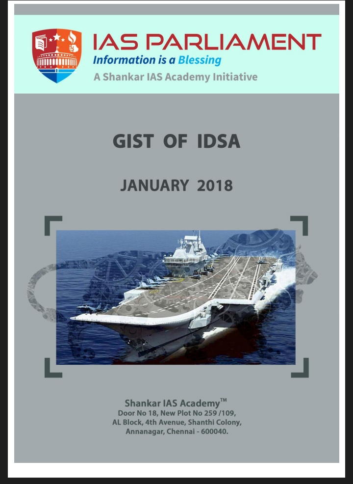 Gist of IDSA February 2018 Pdf Download - insight on india