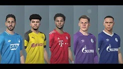 PES 2019 Bundesliga Facepack Update 21 Nov. 2019