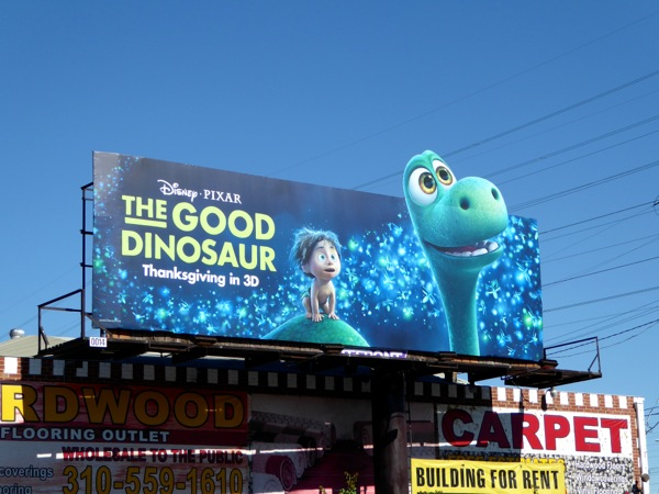 Good Dinosaur movie billboard