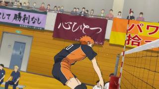 ハイキュー!! アニメ 2期12話 日向翔陽 | HAIKYU!!  Ohgiminami high vs Karasuno