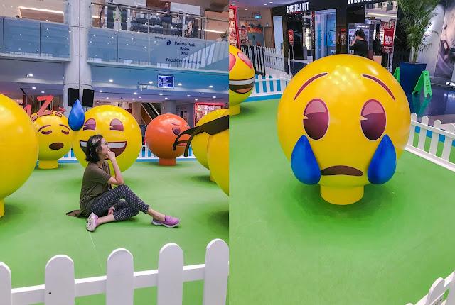 Explore the Land of Emoji at Marina Square Singapore