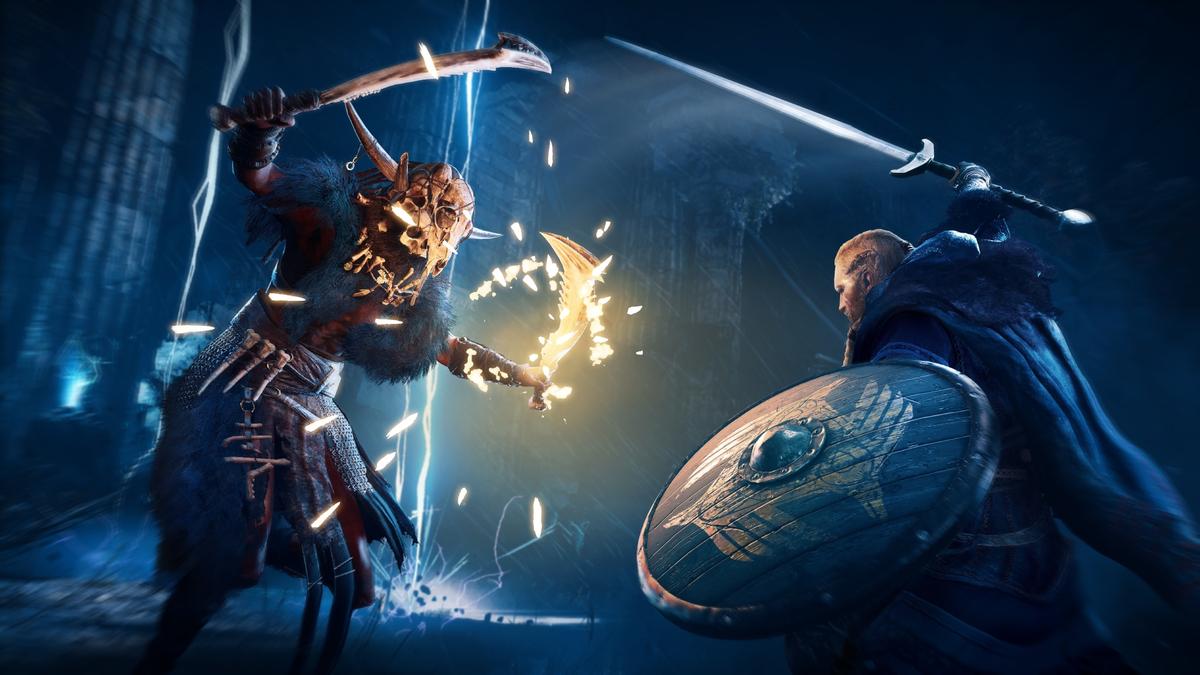 Assassin's Creed Valhalla-Combat system