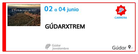GúdarXtrem 2017 en Gúdar
