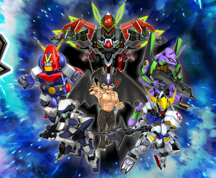 Super Robot Wars DD - Japan Server Pre-Registration