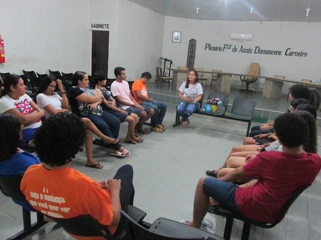 Janeiro Branco | Ágora Chaval e Dra. Beatriz Azevedo realizaram Roda de Diálogo