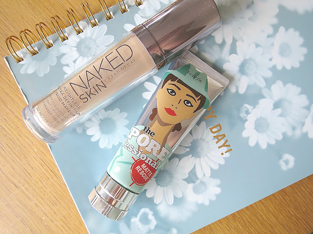 2016 Makeup Beauty Favourites So Far Flat Lay Base Eyes Lips highlight Urban Decay Benefit