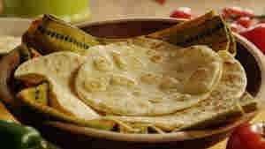 خبز التورتيا المكسيكي